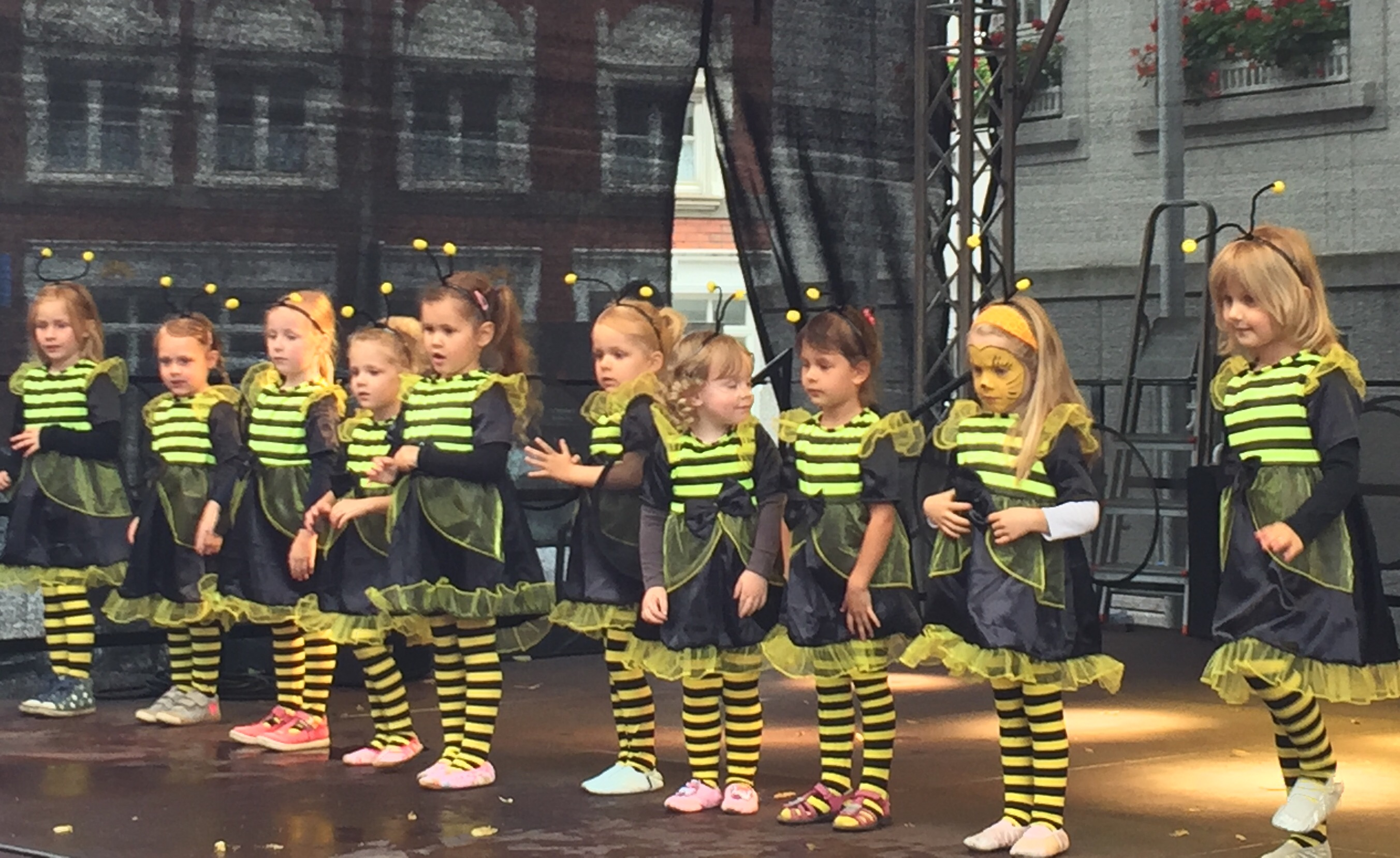 Gruppenbild Tanzmäuse
