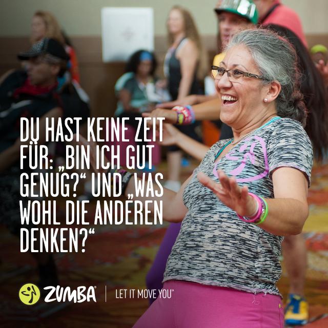 Plätze frei beim ZUMBA: Tanz dich fit...
